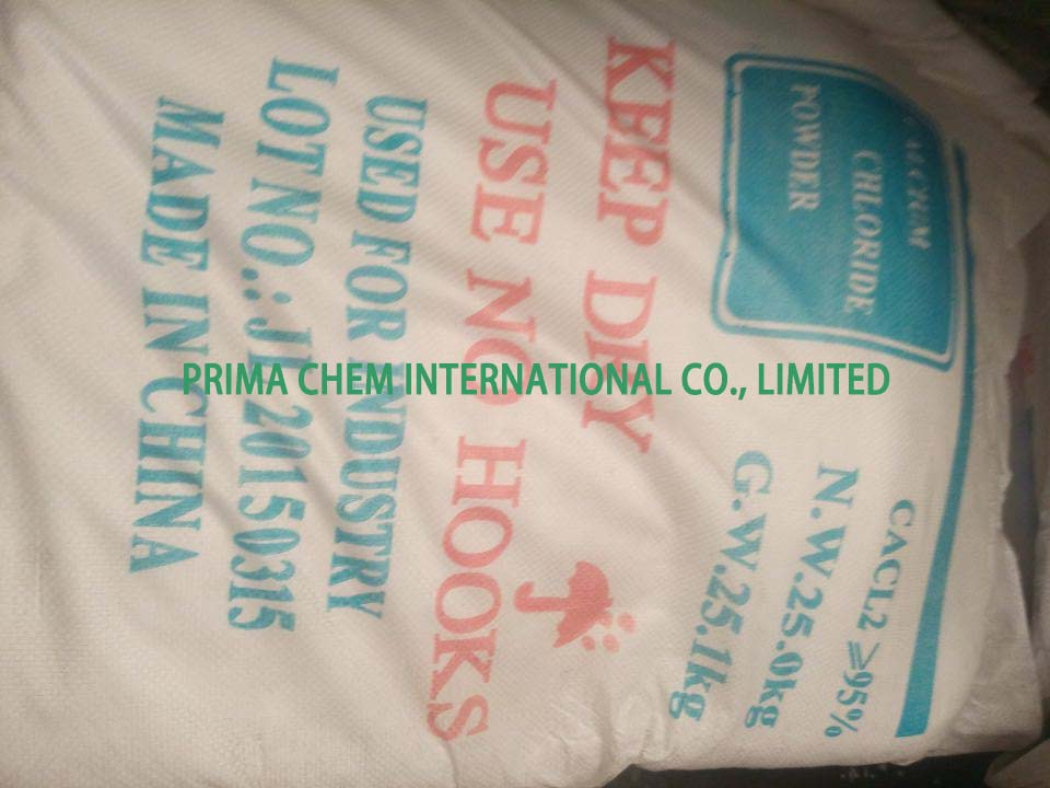 Calcium Chloride Anhydrous,94-97% White powder